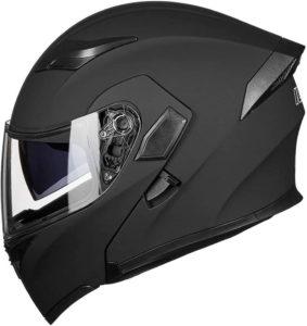 ilm modular flip up dual visor helmet review