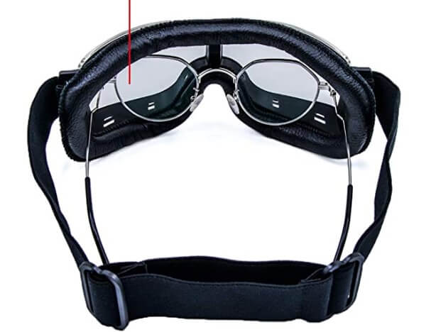 leather motorcycle goggles that fit over prescription glasses