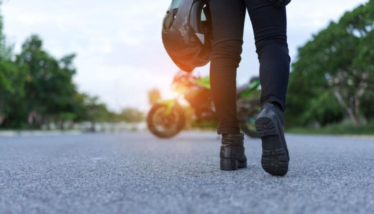 best boots to wear on a motorcycle for women