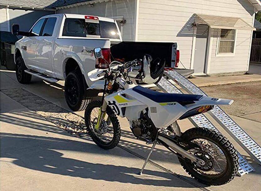 Best dirt bike truck ramp
