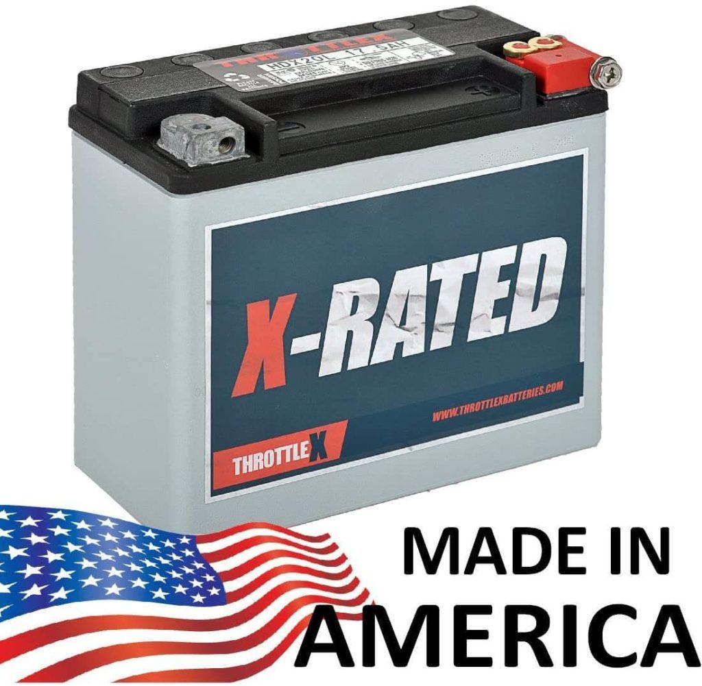 best battery for sportster