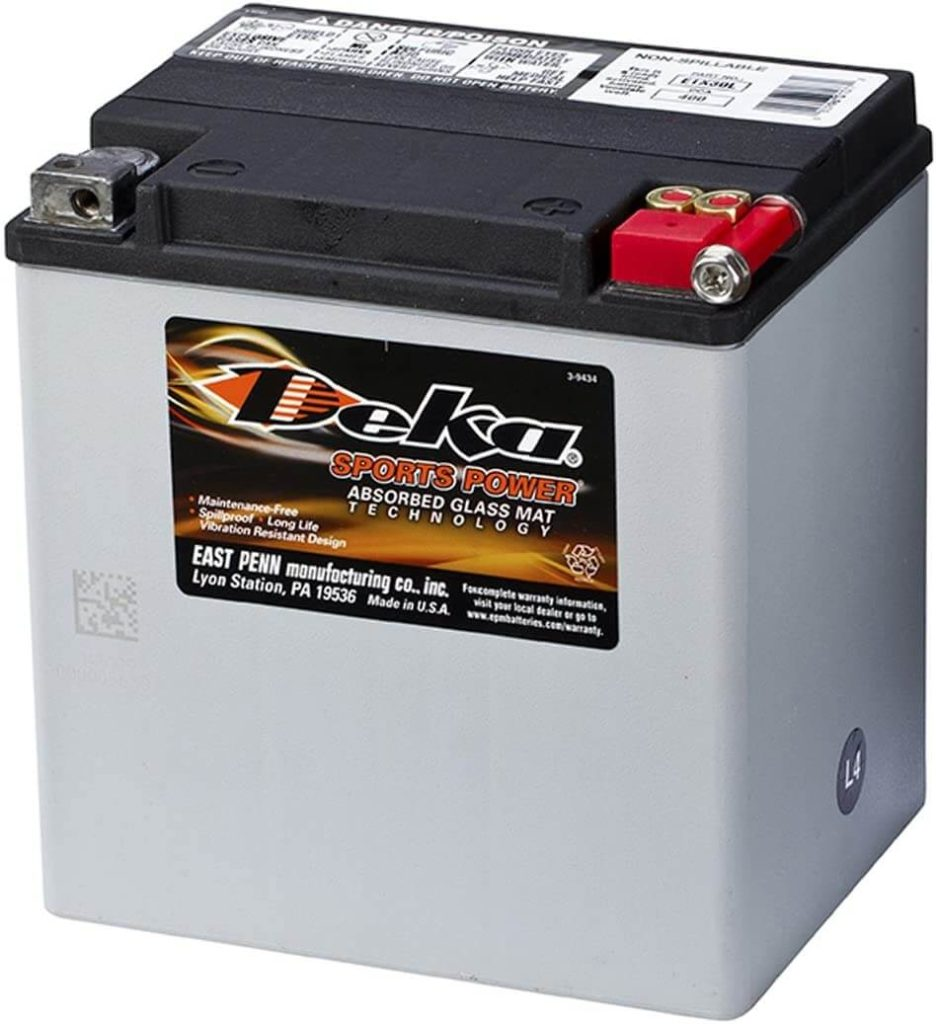 harley sportster battery replacement