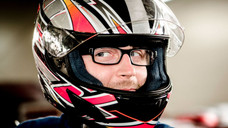 How to Wear Glasses with a Motorcycle Helmet