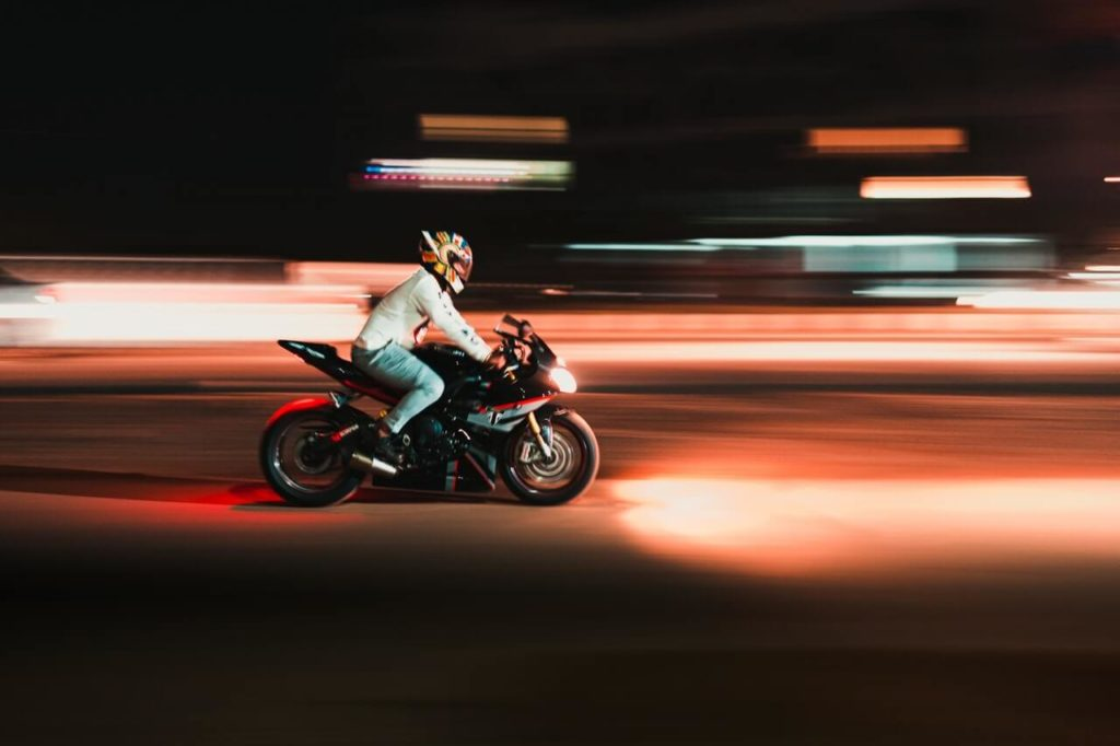 avoid night motorcycle riding