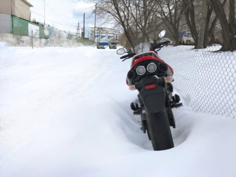 Motorcycle Won't Start in the Cold