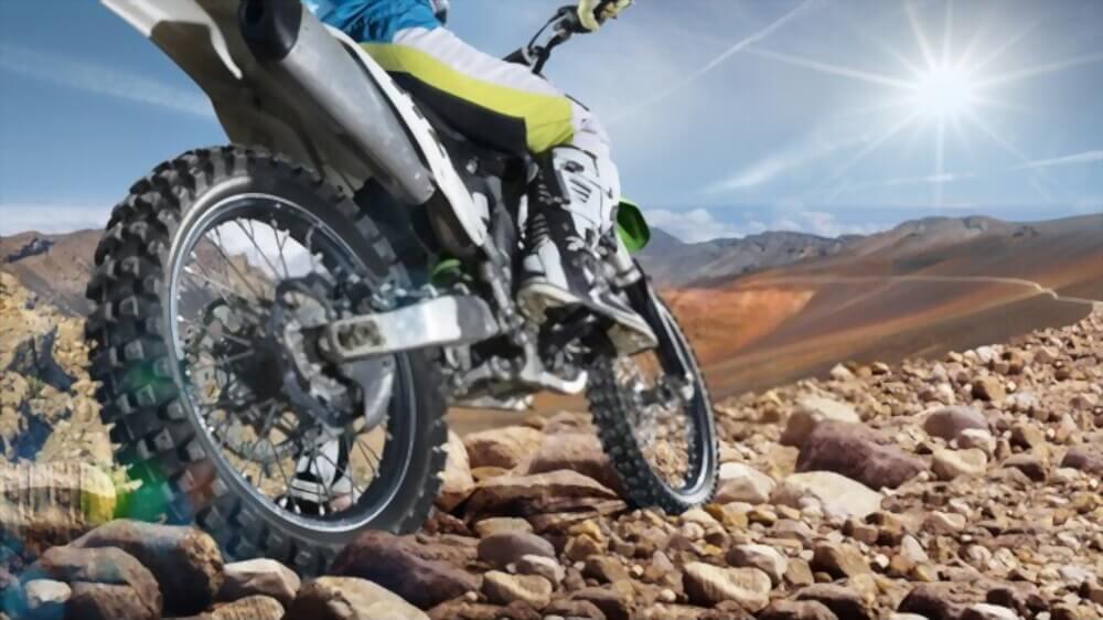 Why do Dirt Bikes have Spoke Wheels