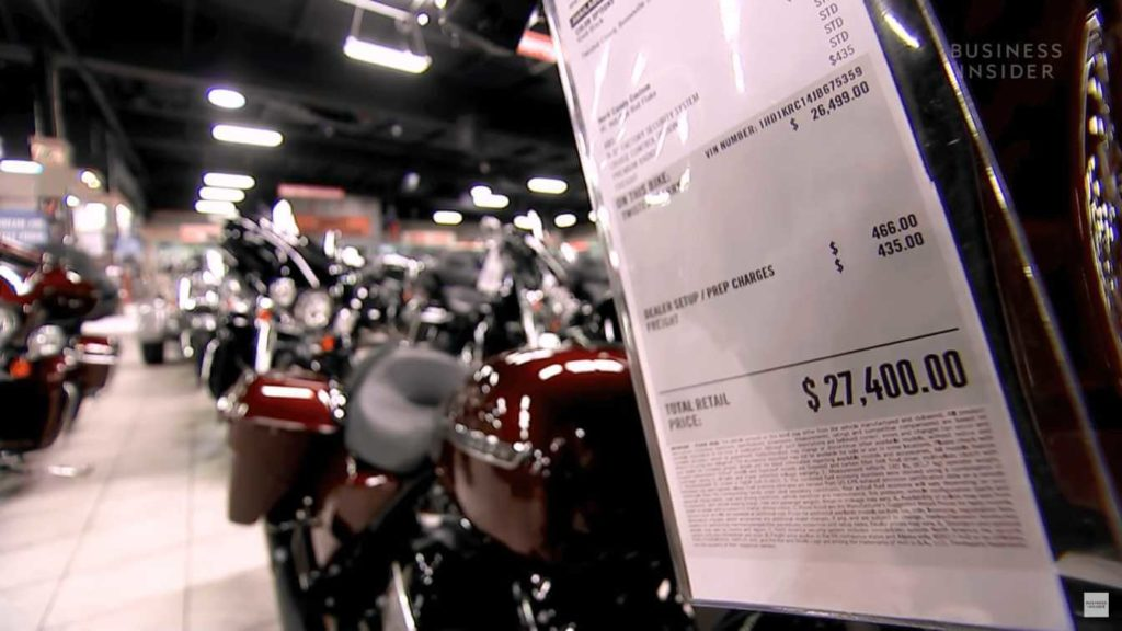 Why is Motorcycle so EXPENSIVE