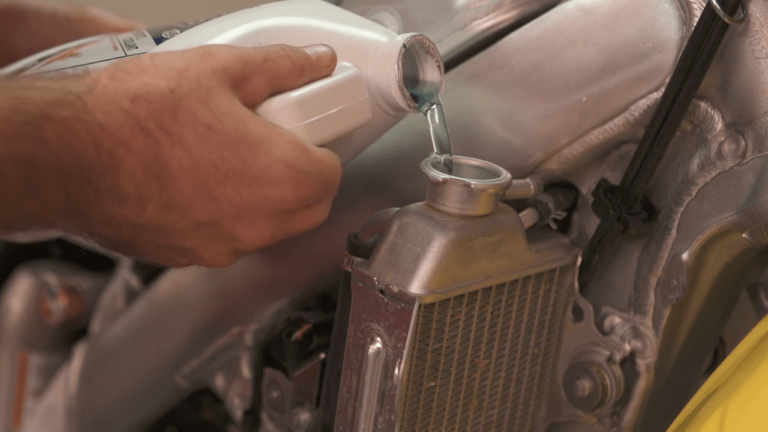 Can you use Water in your Dirt Bike Radiator
