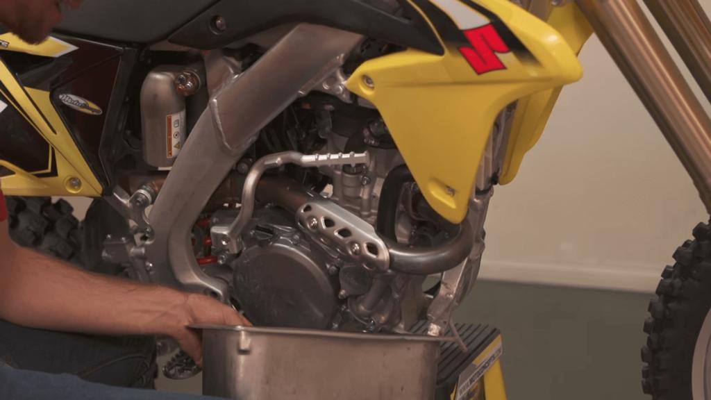 How often should we flush the dirt bike radiator