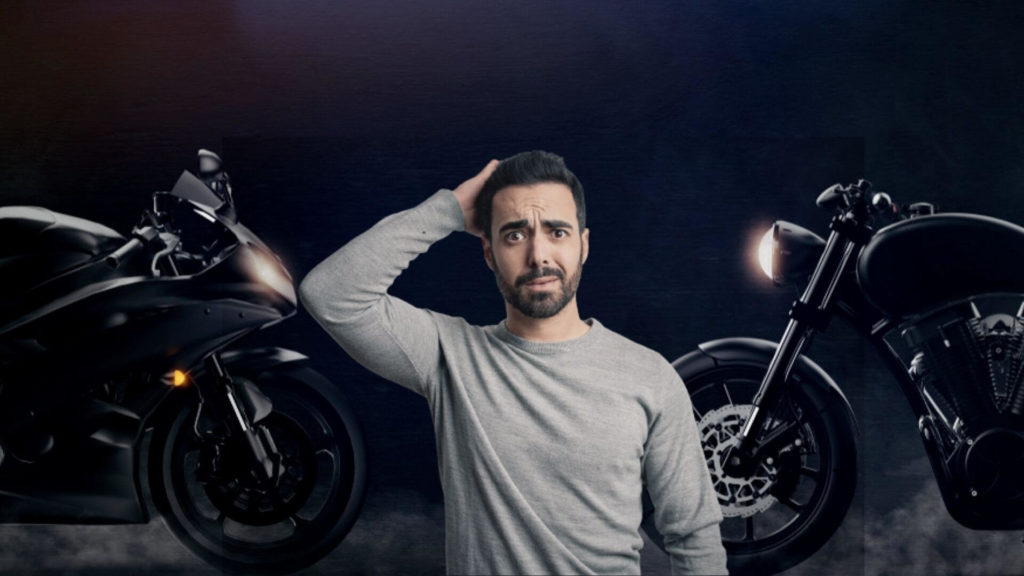 cruiser or sportbike for first bike
