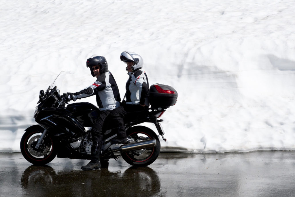 How to Keep your Knees Warm on a Motorcycle