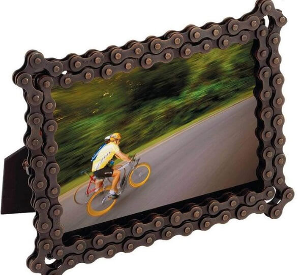 what to do with old motorcycle chain