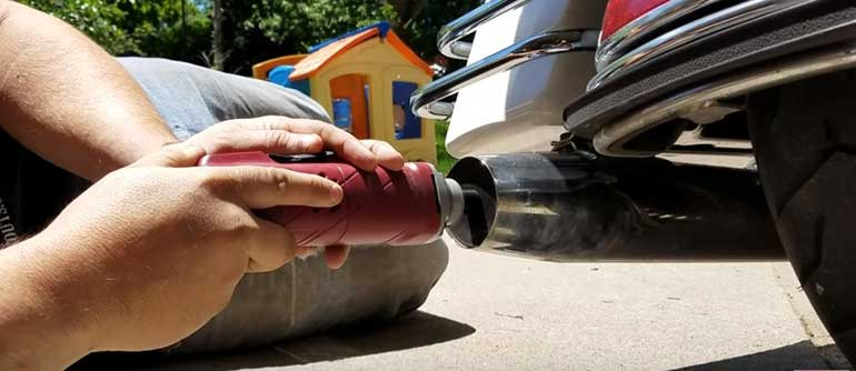 How much can you modify your Motorcycle Exhaust