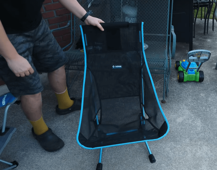 Motorcycle camping chair review