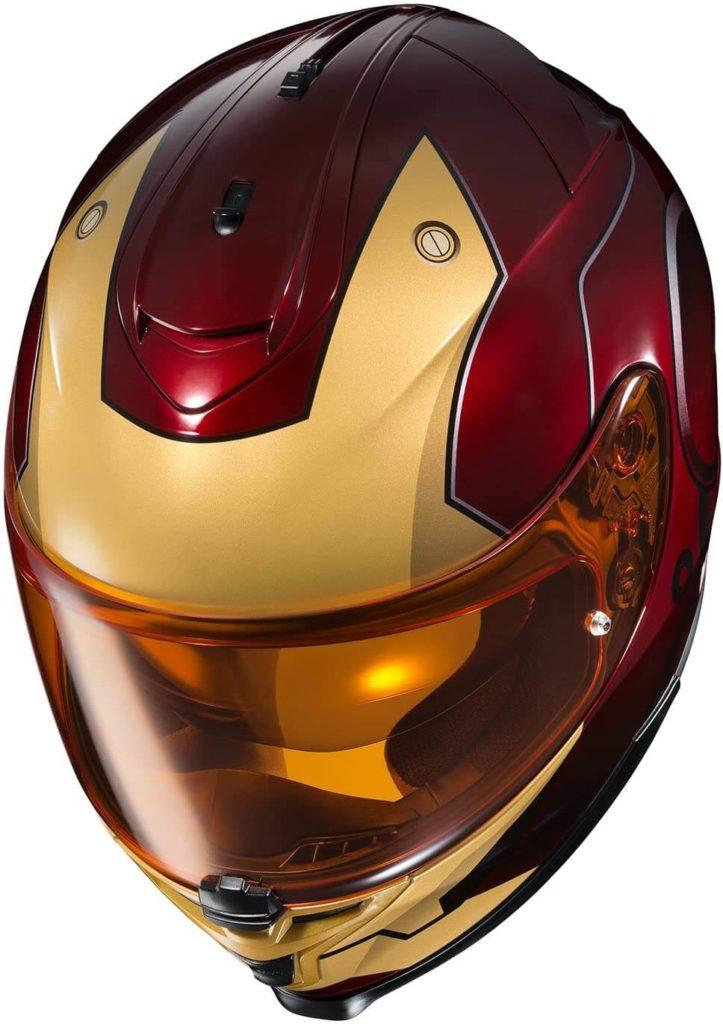 HJC IS-17 Marvel Iron Man Street Motorcycle Helmet