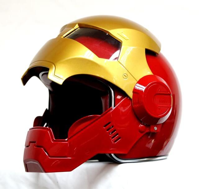 Masei Iron Man 610 Open Face Motorcycle Helmet