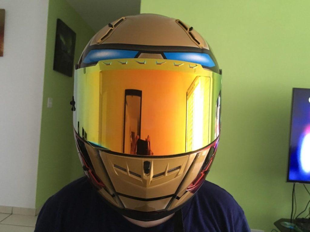 Best Iron Man Motorcycle Helmet